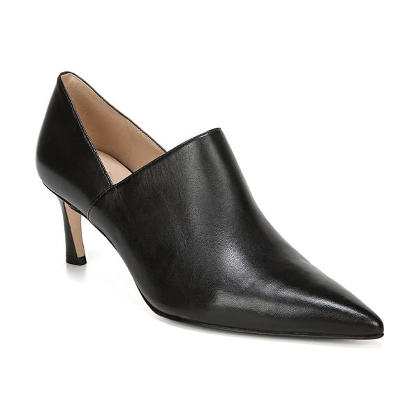 27 EDIT fanfare pump in black leather
