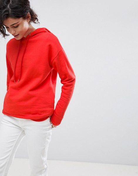 2ND DAY 2NDDAY Chill Hoodie in poppyred - Hoodie by 2nd Day, No longer just a slacker staple,...