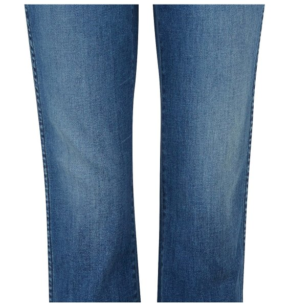 3 X 1 W3 straight authentic cropped jeans in lewis