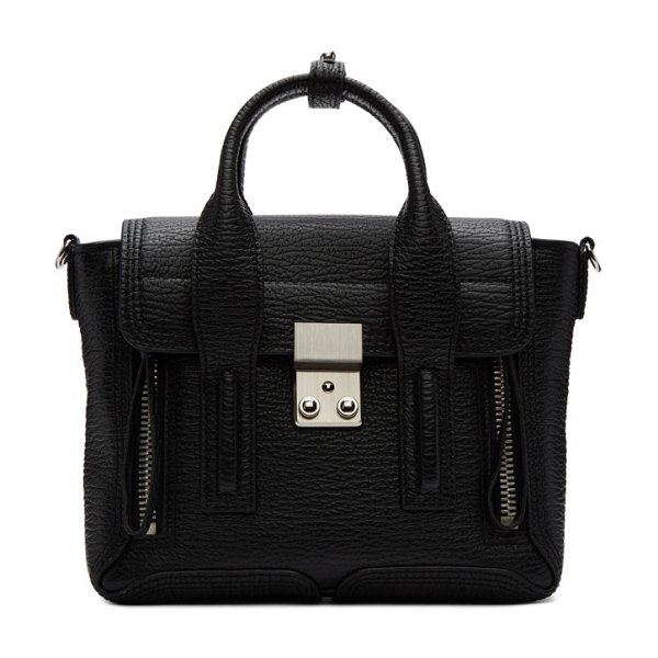 3.1 phillip lim black mini pashli satchel in bl006 blk-n