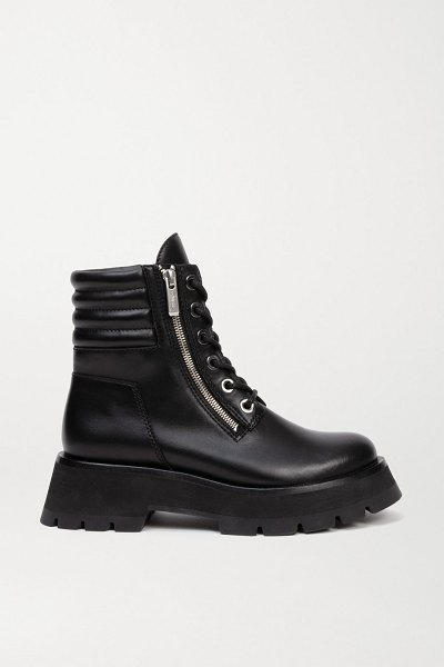 3.1 phillip lim kate leather ankle boots in black