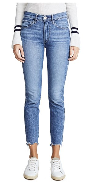 3x1 w3 straight authentic crop jeans in ace