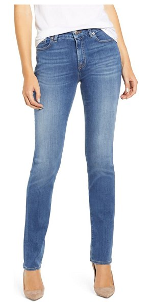 7 For All Mankind 7 for all mankind ankle skinny jeans in slim illusion luxe love story