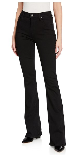 7 For All Mankind Ali High-Rise Jeans in black