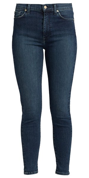 7 For All Mankind aubrey high-rise skinny jeans in rivington