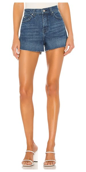 7 For All Mankind high rise short with cut off hem. - size 24 (also in retro broadway