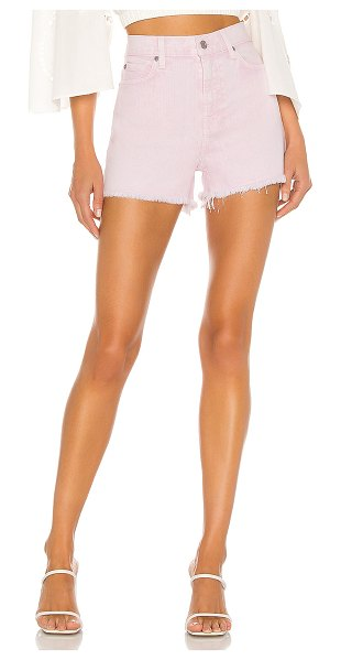 7 For All Mankind high waist short with fray hem. - size 24 (also in mineral pink