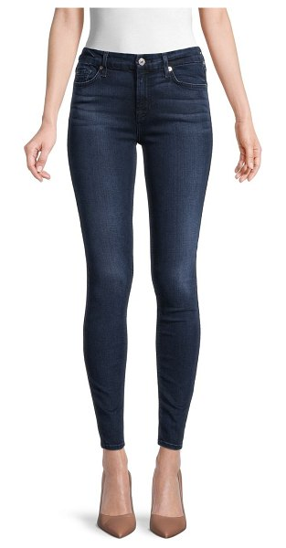 7 For All Mankind Squiggle Super Skinny Jeans in bairprkave