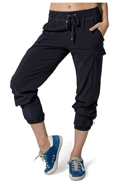 925 Fit First Class Drawstring Pants in navy