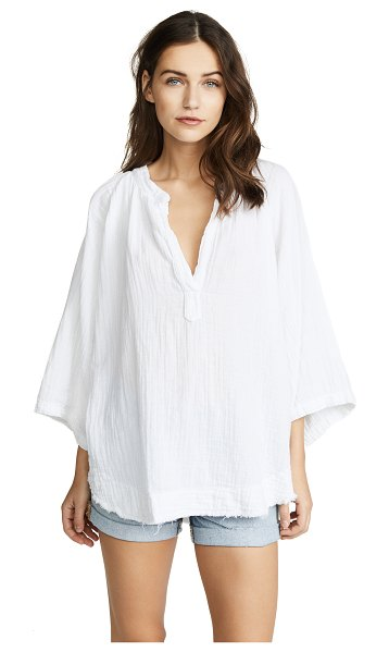 9seed marrakesh cover up top in white