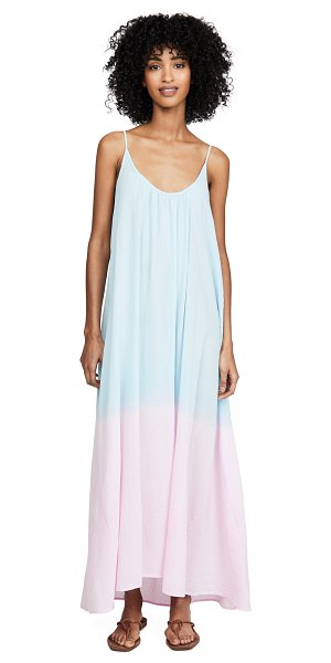 9seed ombre tulum dress in sorbet ombre