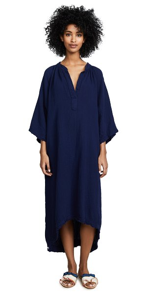 9seed tangier caftan in pacific