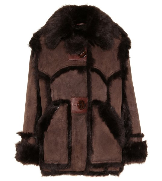 Acne Studios shearling jacket in brown