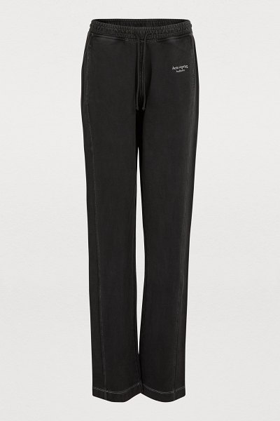 Acne Studios Sweatpants in black - The Acne fashion house focuses on natural elegance with...