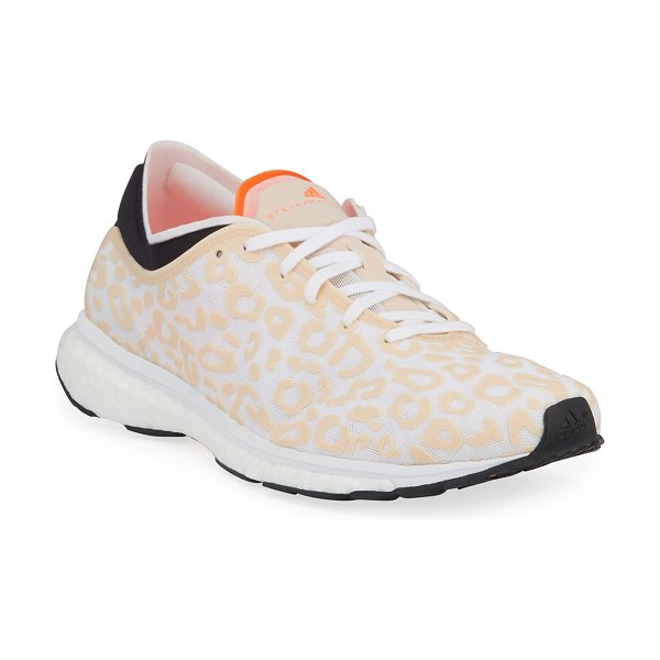 adidas by Stella McCartney Adizero Adios Mesh Running Sneakers in cheetah