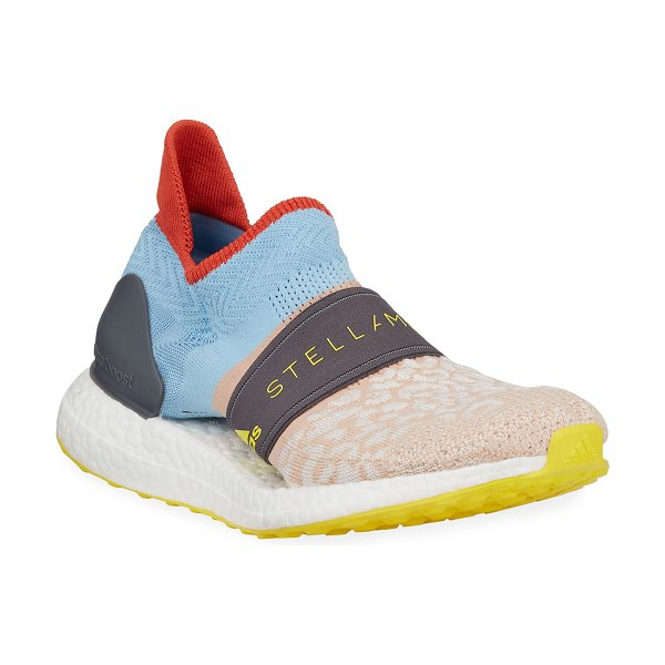 adidas by Stella McCartney Ultraboost X 3.D.S. Knit Sneakers in cheetah