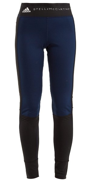 adidas by Stella McCartney yoga comfort performance leggings in navy multi - Adidas By Stella McCartney - Adidas by Stella...