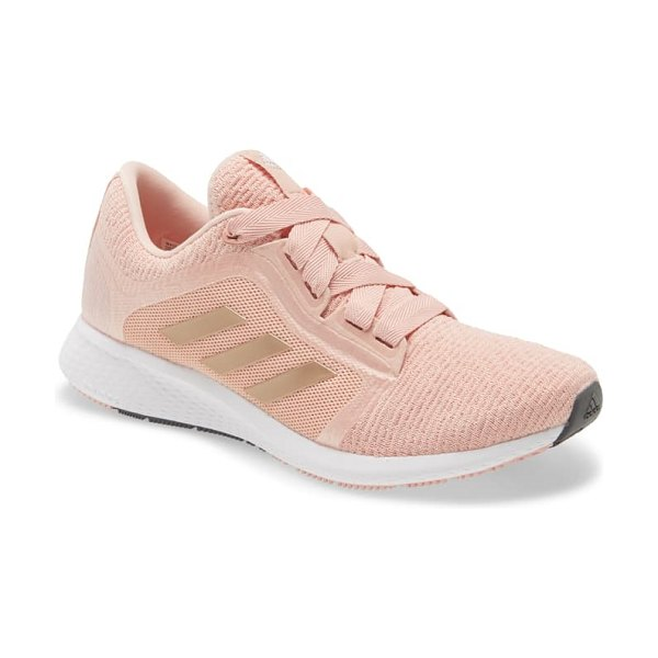Adidas edge lux 4 running shoe in copper/ copper/ white