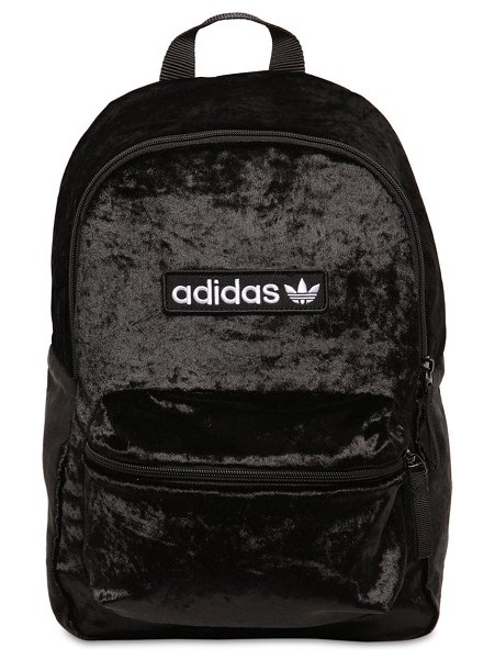 adidas Originals Bp techno velvet back pack in black
