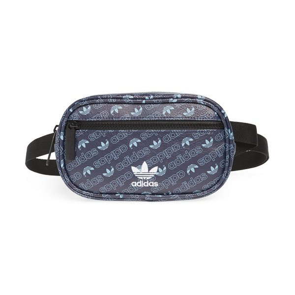 Adidas originals faux leather belt bag in collegiate navy - This sleek belt bag inspired by the boxy shape of...