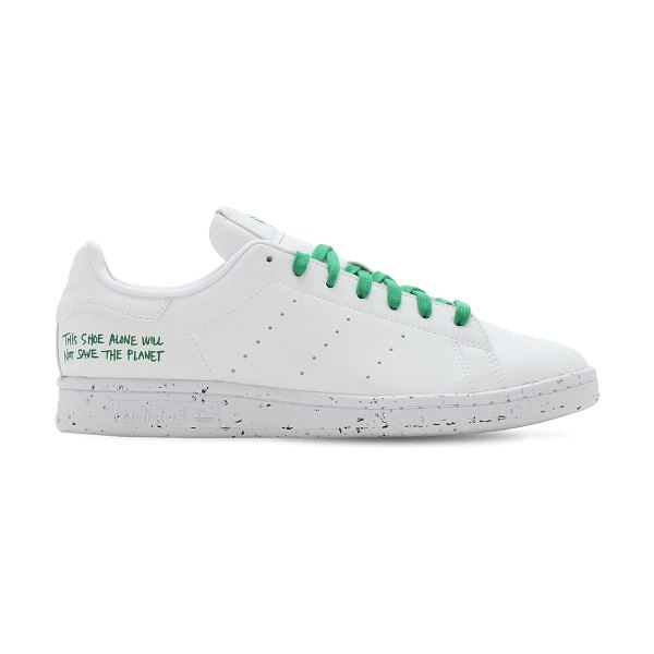 adidas Originals Stan smith vegan sneakers in white,green