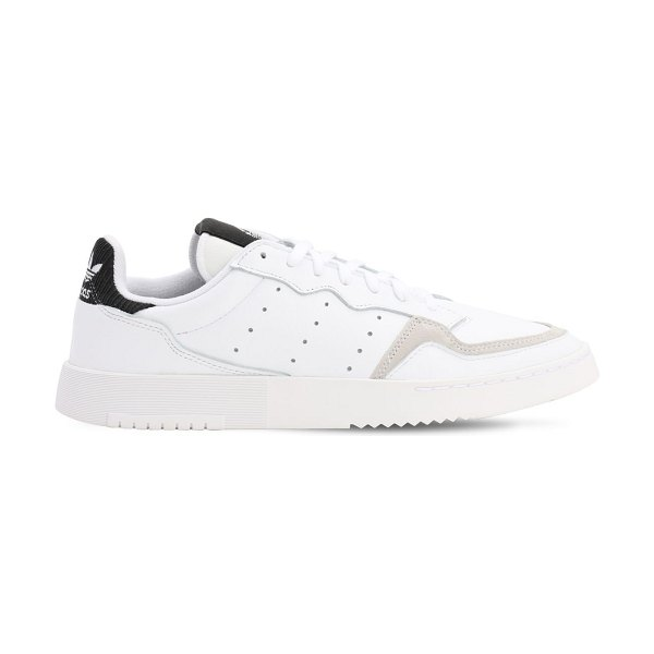 adidas Originals Supercourt leather sneakers in white