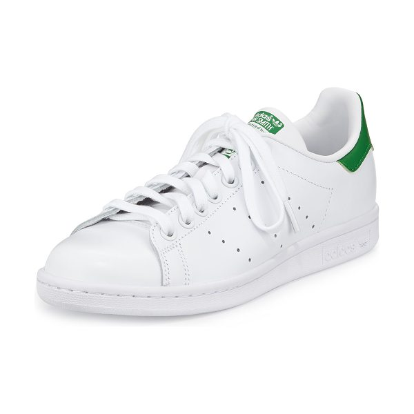 Adidas Stan Smith Classic Sneaker in white/ green
