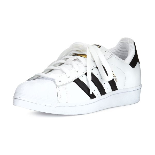 Adidas Superstar Classic Sneakers in white/black