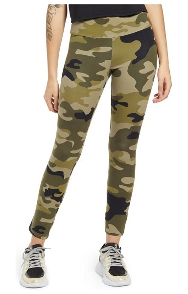 AFRM alessi high waist ankle leggings in camo