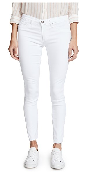 AG Adriano Goldschmied legging ankle jeans in white