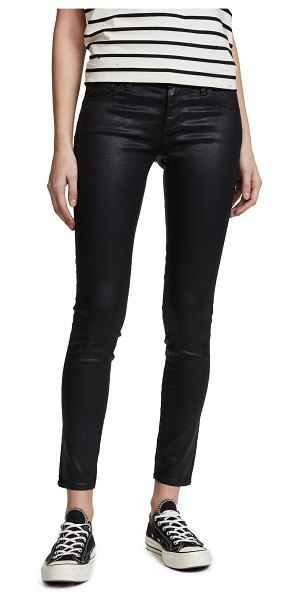 AG Adriano Goldschmied the legging ankle jeans in super black