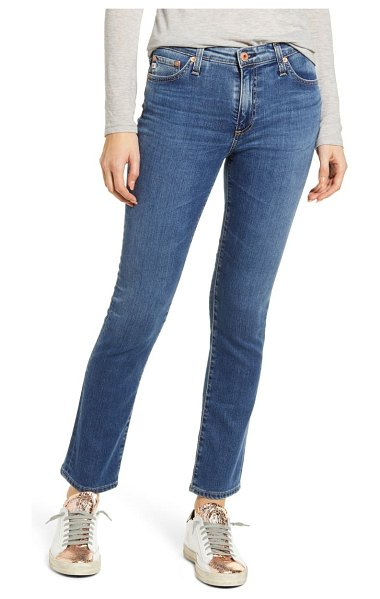 AG Adriano Goldschmied mari high waist ankle straight leg jeans in 15 years interject