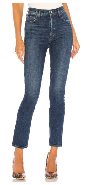 AGOLDE nico high rise slim. - size 23 (also in fixation