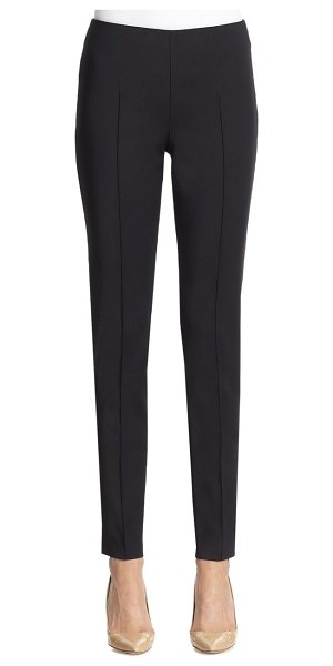Akris melissa techno pants in black,navy,off white,sand