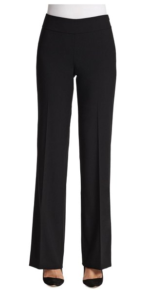 Akris punto elements karla wool trousers in black