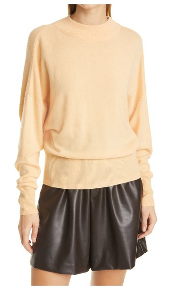A.L.C. chiara wool & cashmere sweater in apricot