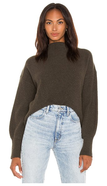 A.L.C. helena sweater in dusty olive