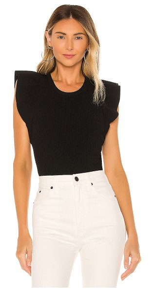 A.L.C. holley top in black