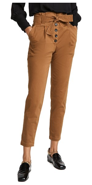 A.L.C. krew pants in deep mocha