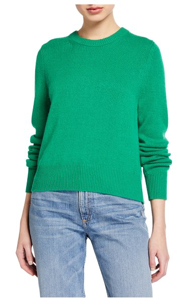 A.L.C. Wooster Crewneck Sweater in green