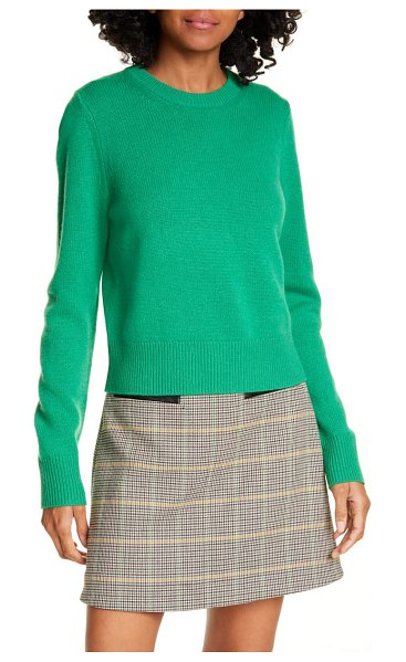 A.L.C. wooster wool blend sweater in green