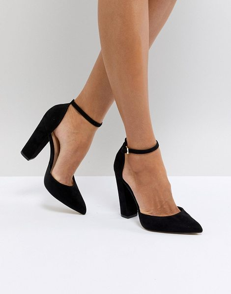 194063a1685 Black Closed Toe Shoes With Ankle Strap - Style Guru  Fashion