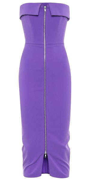 Alex Perry exclusive to mytheresa – strapless midi dress in purple