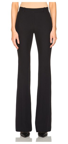 Alexander McQueen Narrow Bootcut Trousers in black - Self: 50% acetate 50% viscose - Lining: 100% silk.  Made...