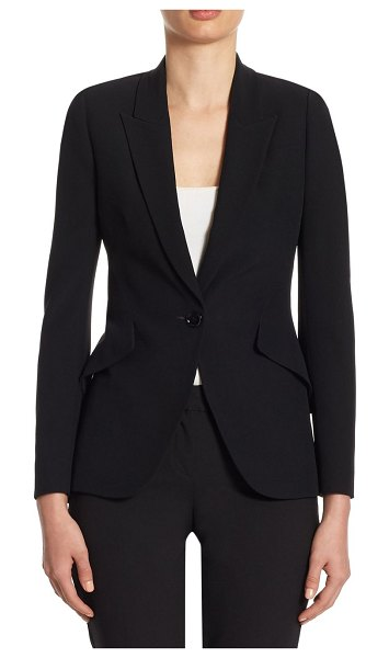 ALEXANDER MCQUEEN tailored peak shoulder jacket - An expertly tailored jacket for a polished and professional...