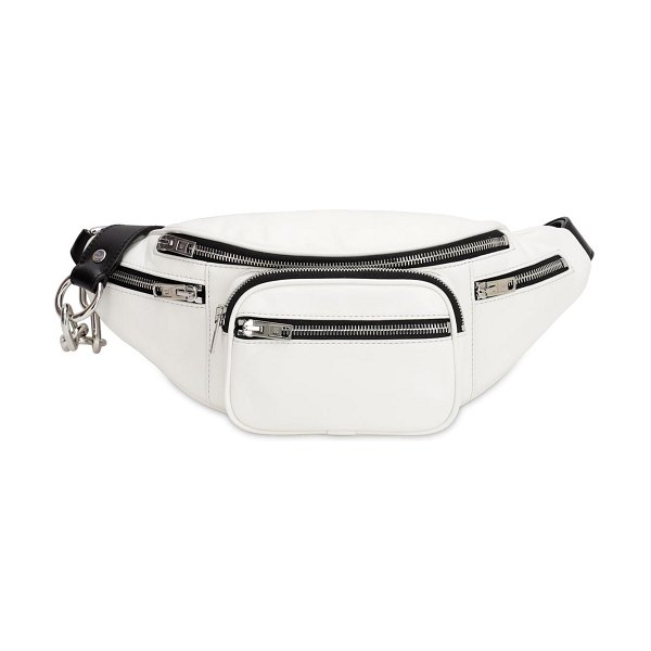 Alexander Wang Attica soft leather belt bag in white