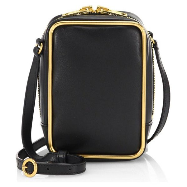 Alexander Wang halo leather crossbody bag in black