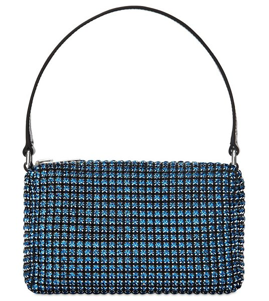 Alexander Wang Wangloc medium crystal bag in blue