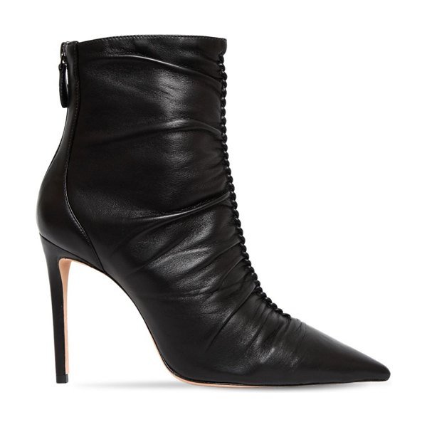 Alexandre Birman 100mm susanna leather ankle boots in black