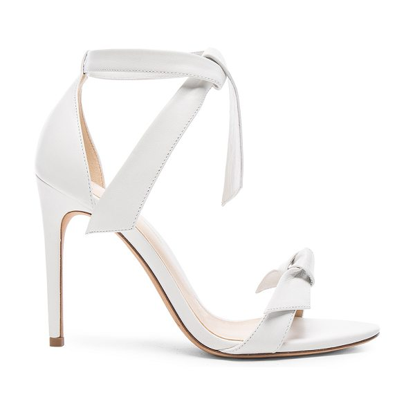 Alexandre Birman Clarita Sandals in white -  - Leather upper and sole.  Made in Brazil.  Approx...